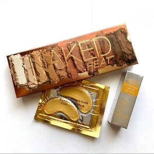 Urban Decay Naked Heat Palette + Serum Gifts NEW!
